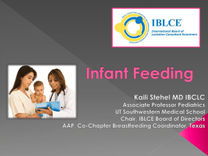 Infant Feeding - National Association of Child Care Resource and