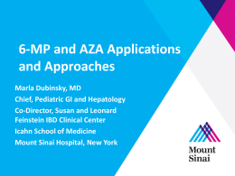 6-MP and Azathioprine - Advances in Inflammatory Bowel Diseases