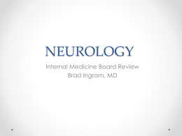 Neurology (Ingram) - University of Mississippi Medical Center