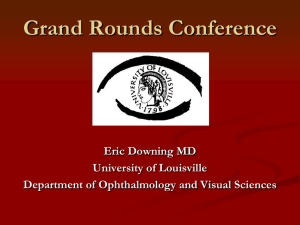 Orbital Lymphoma - University of Louisville Department of