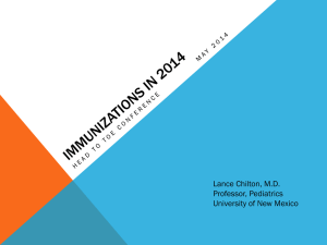 33: Immunizations PowerPoint