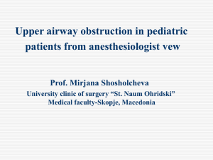 Emergent evaluation of acute upper airway obstruction in children.