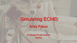 ECMO Simulation.