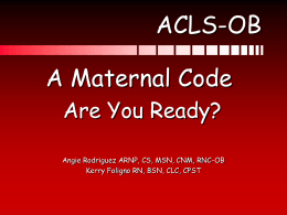 ACLS-OB - Conference