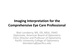 Lonsberry - Imaging Interpretation