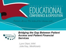 Bridging the Gap Between Patient Access and PFS