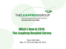 here - The Leapfrog Group