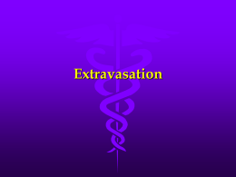 Extravasation - Mount Vernon Cancer Network