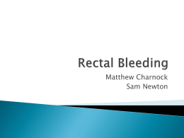 Rectal Bleeding