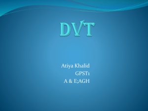 19th Apr 2011 - DVT - Atiya Khalid