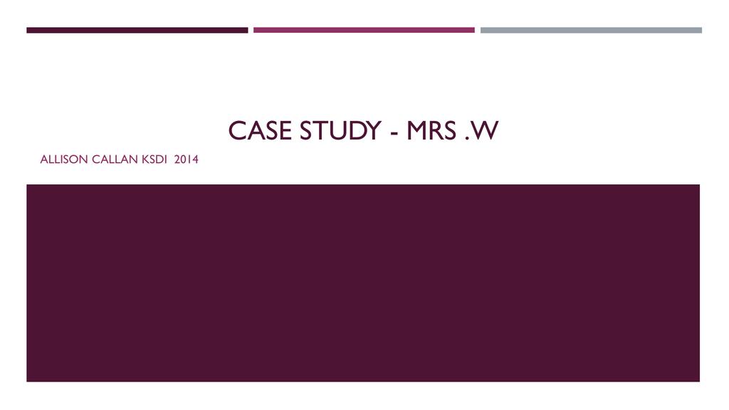 case study of hhns
