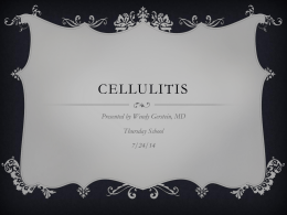 Cellulitis - UNM Internal Medicine Resident Wiki