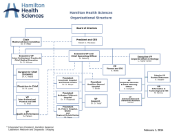 PowerPoint Presentation - Hamilton Health Sciences