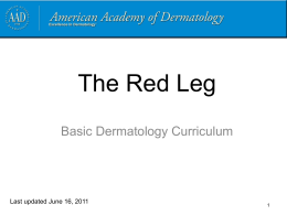 Case Four, Question 1 - American Academy of Dermatology