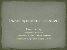 Dravet`s Syndrome explained - Dr. Evan Fertig