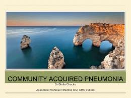 4. Community Acquired Pneumonia