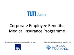 TUM – Guide to your Medical Insurance Programme