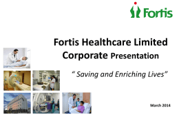 March 2014 - Fortis Healthcare