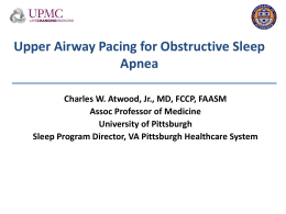 Precision Medicine - Kansas Association of Sleep Professionals