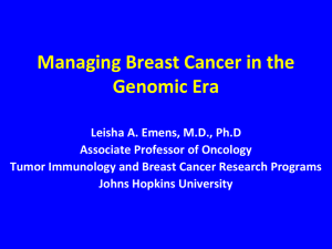 Recent Advances in Monoclonal Antibody Therapy for Breast Cancer
