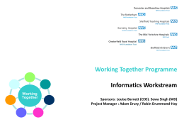 South Yorkshire Working Together Programme