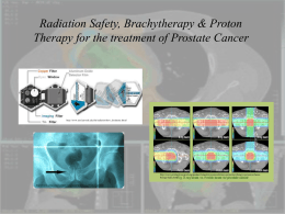 Dosimeters & Proton Therapy
