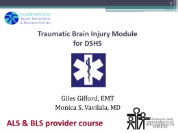 ALS/BLS TBI Training Powerpoint