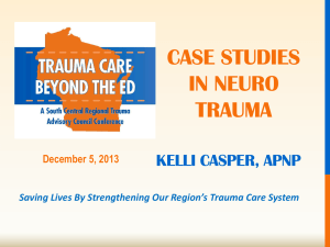 Case studies in neuro trauma