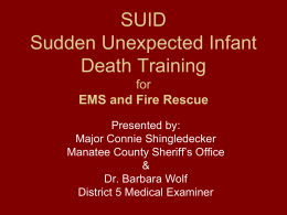 EMS SUID Training 1.21.14 no pics