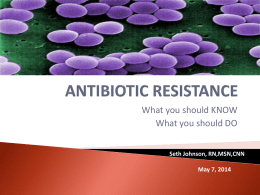 What is antibiotic resistance?