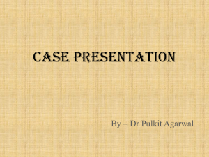 case presentation - inverted papilloma