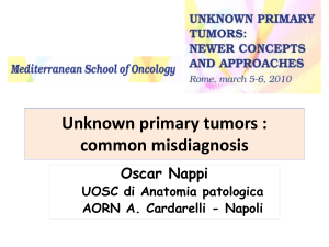 Unknown primary tumors