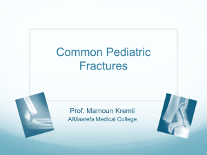 Common Pediatric Fractures compressed