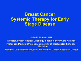 09.Systemic Therapy for Early Stage Disease