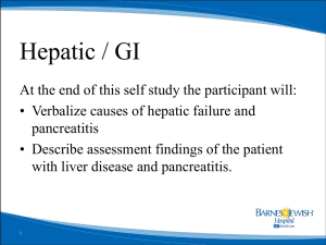 hepatic GI