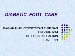 DIABETIC FOOT CARE - Damascus Hospital