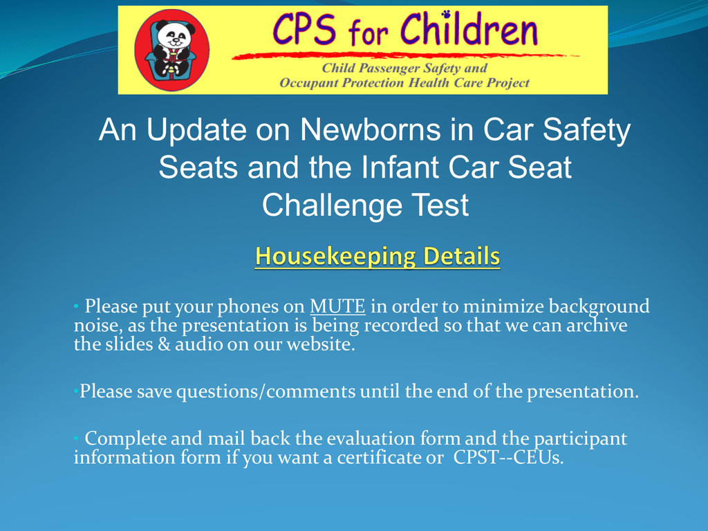 An update on newborns in car safety seats and the infant 1betcityfo Gallery