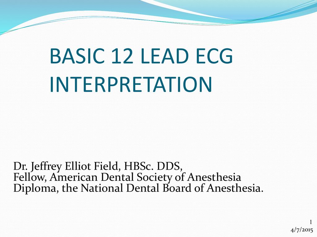Basic 12 Lead ECG Interpretation Word 97-2004