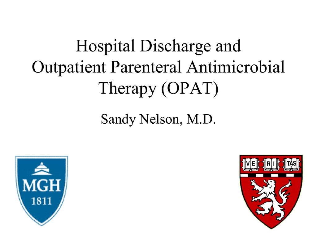 OPAT - Massachusetts General Hospital