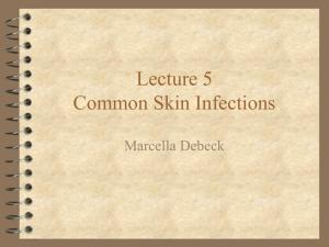 Common Skin Infections Presentation