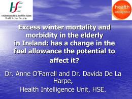 Dr Anne O`Farrell - Energy Action Ireland