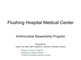 Flushing Hospital Medical Center - Quality Improvement Organizations