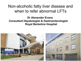 Non Alcoholic Fatty Liver Disease Presentation