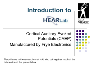Introduction to Hear..