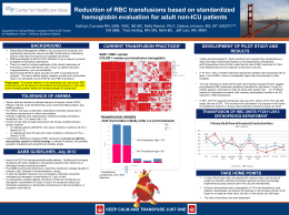 background transfusion of rbc units fy2011