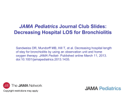 Methods - JAMA Pediatrics