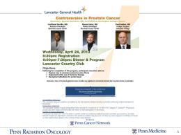 Radiation Therapy - Lancaster General