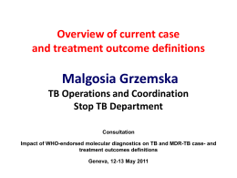 Case and outcome definitions 11May11 Grzemska
