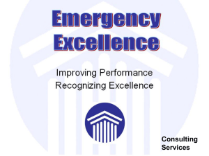 EmEx-Compare - Emergency Excellence
