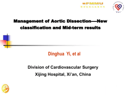 Comprehensive Management of Aortic Dissection-